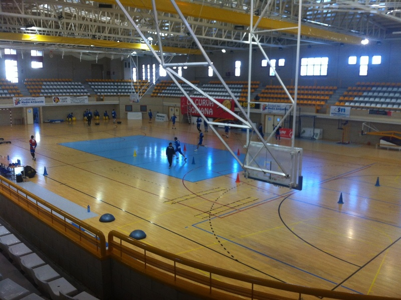 Instalaciones deportivas campus internacional minibasket for Piscina jose garces